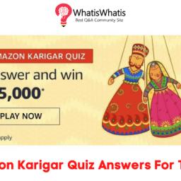 amazon-karigar-quiz-answers-for-today-amazon-karigar-quiz-answers-for-today